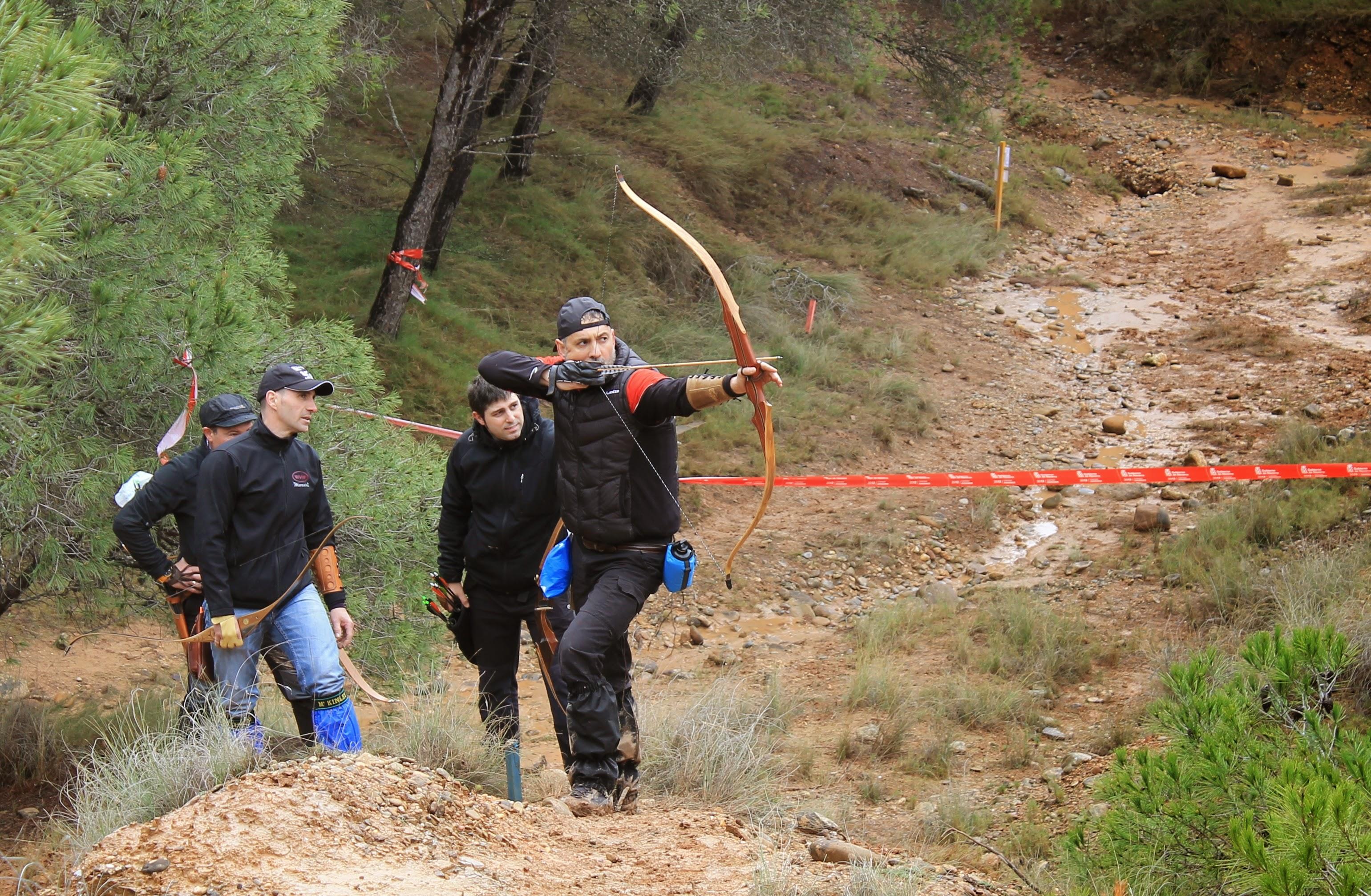 Flechas en Huércanos