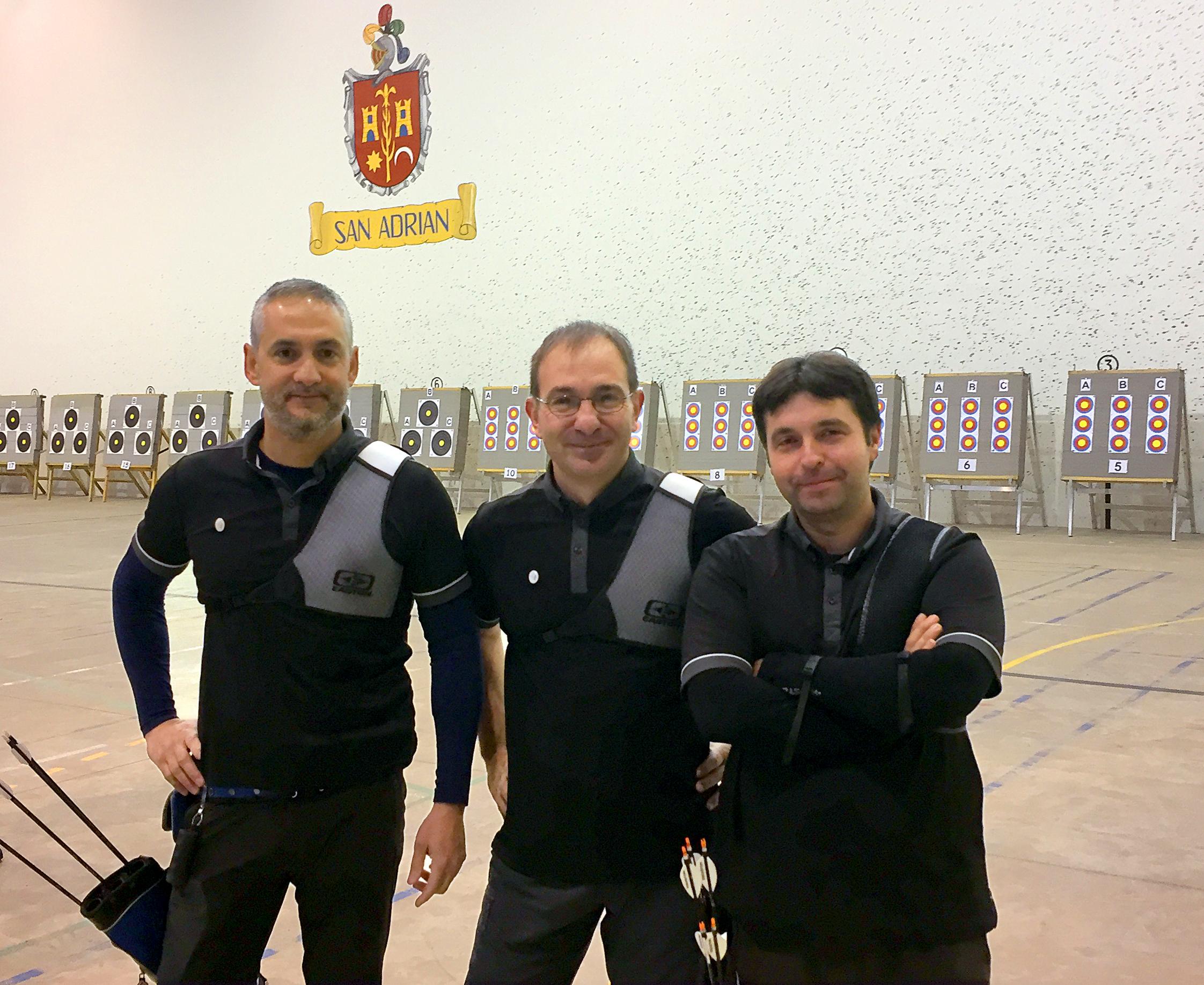 San Adrián. Campeonato navarro de tiro con arco sala 2017.